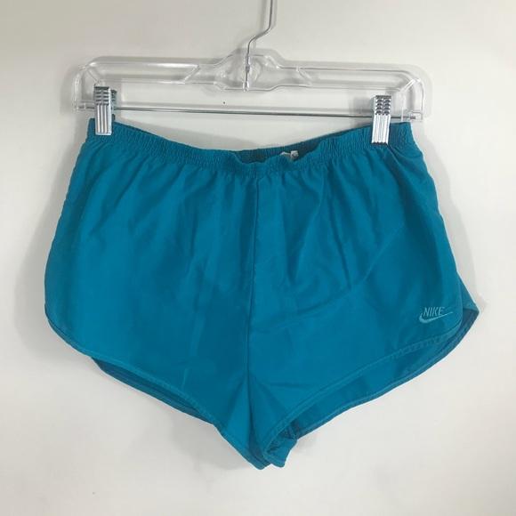 Nike Pants - NIKE | Vintage Teal Running Shorts
